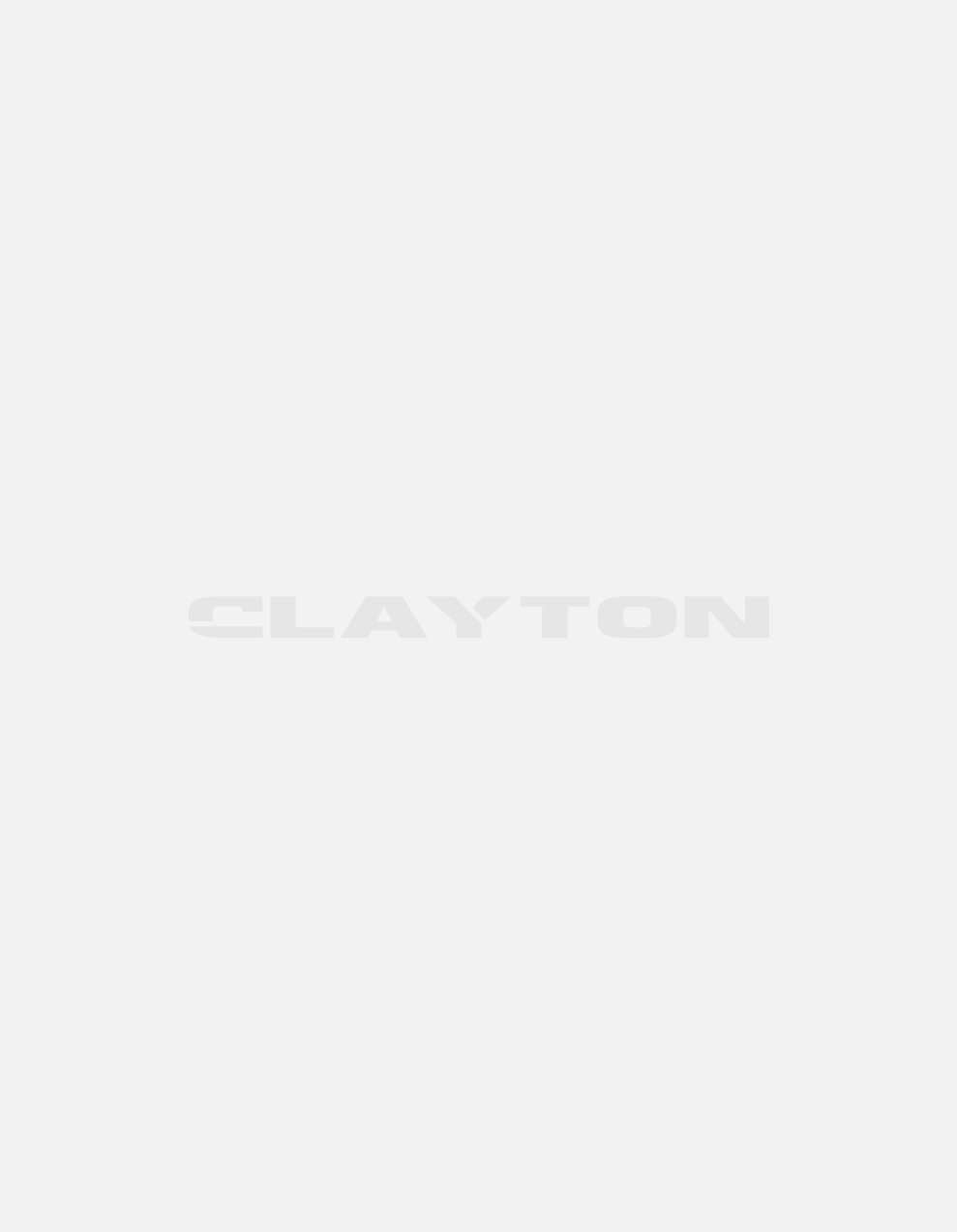 Men's shirt with stand up collar and white and blue print